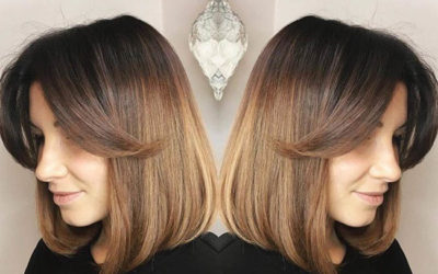 Стрижки на средние волосы 2018: фото подборка