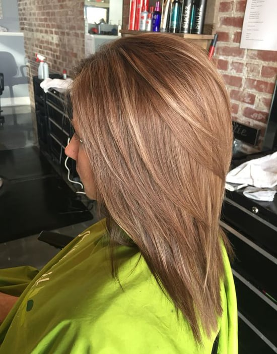 Модные стрижки для волос средней длины 2017