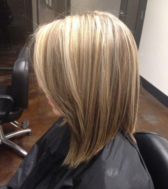 стрижка для средних волос 2017