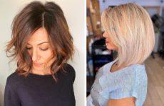 Самые модные стрижки на средние волосы 2020