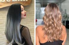 Окрашивание Омбре: на темные волосы и светлые