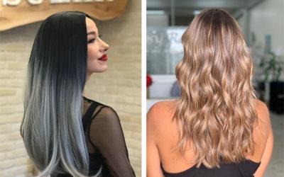 Окрашивание Омбре: на темные и светлые волосы