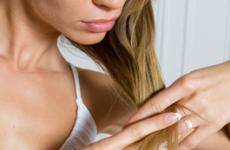 Секущиеся волосы: лечение и профилактика