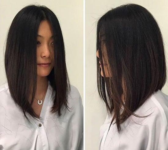 причёска каре с удлинением фото