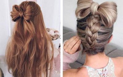 Как сделать бант из волос: подробная инструкция с фото