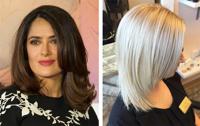Причёска каскад фото на средние волосы как укладывать