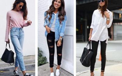 С чем носить джинсы: фото подборка