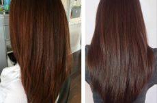 Каштановые волосы — фото подборка каштановых оттенков