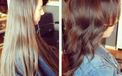 Тонирование волос фото до и после — 20 вариантов