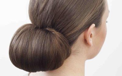 Низкий пучок: как сделать на длинные волосы