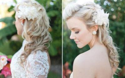 Красивые прически для невесты: фото