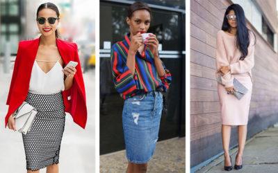 С чем носить юбку карандаш: классика и современные тренды