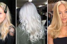 Оттенки блонда: натуральный, холодный, пепельный
