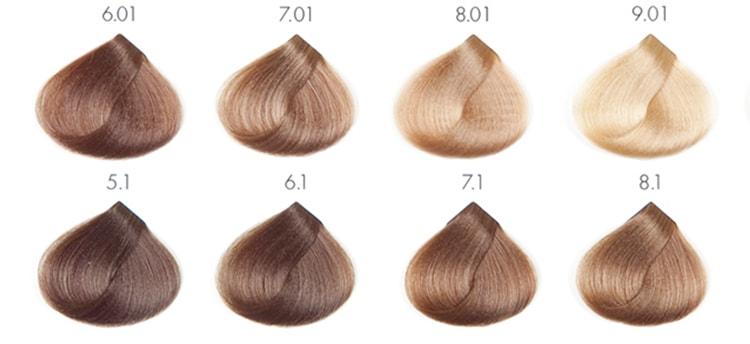 -1 Темно русый цвет волос оттенки и методы окрашивания Фото