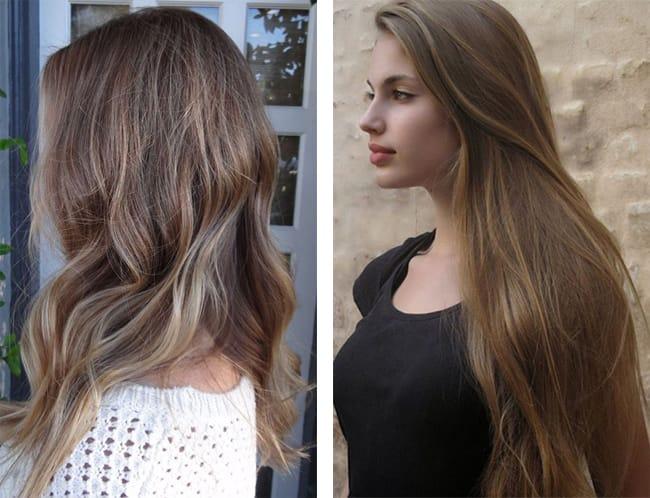 русый цвет волос