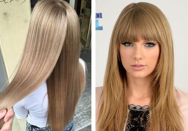 светло русый цвет волос