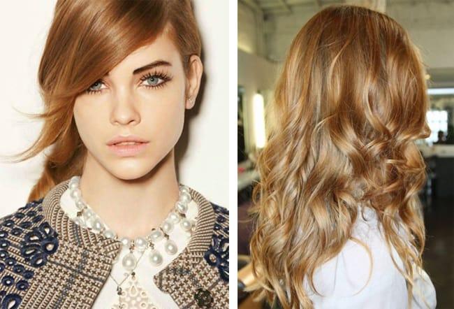 золотисто русый цвет волос