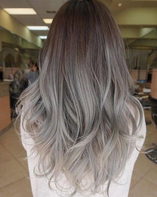 Пепельный цвет волос фото оттенков как выбрать свой