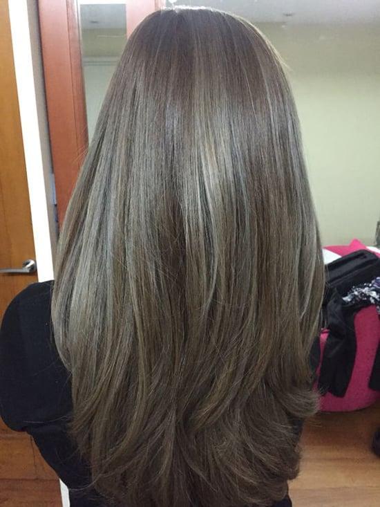 темно русый пепельный цвет волос