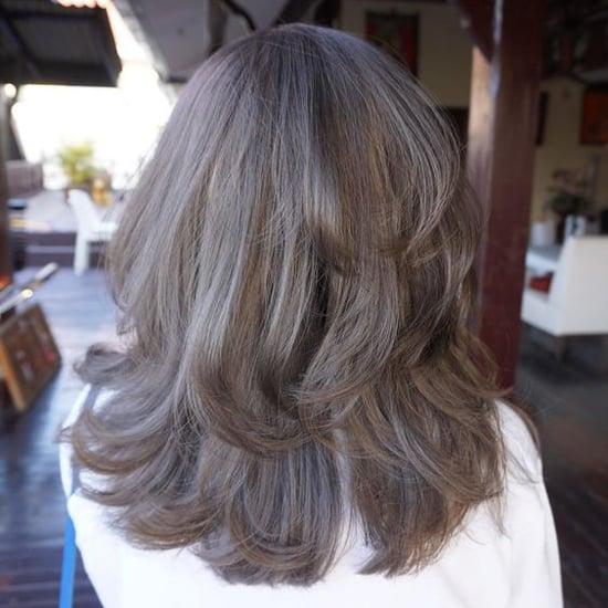 пепельно коричневый цвет волос