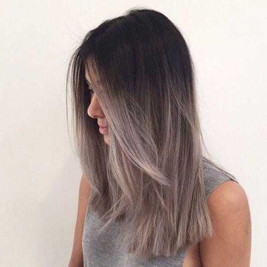 Пепельный цвет на волосах