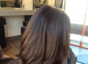 шоколадный цвет волос