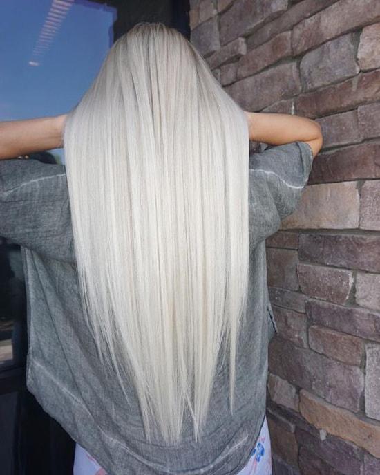 кому идет платиновый блонд