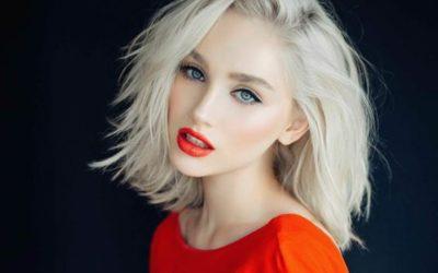 Платиновый блонд: драгоценная роскошь на волосах (фото)