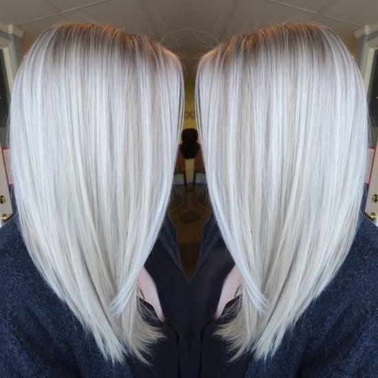 цвет платиновый блондин