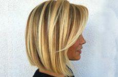 Стрижка боб: удлиненный и на короткие волосы с челкой (фото)