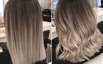Окрашивание балаяж на русые волосы: как подобрать оттенок (фото)