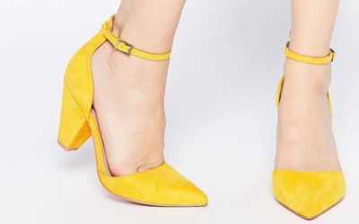 Желтые туфли — с чем носить туфли желтого цвета (фото)