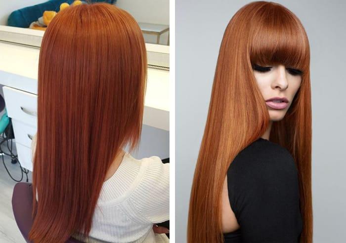 Как волосам придать рыжий оттенок в домашних условиях
