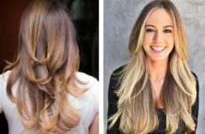 Стрижка на длинные волосы придающая объем (ФОТО)