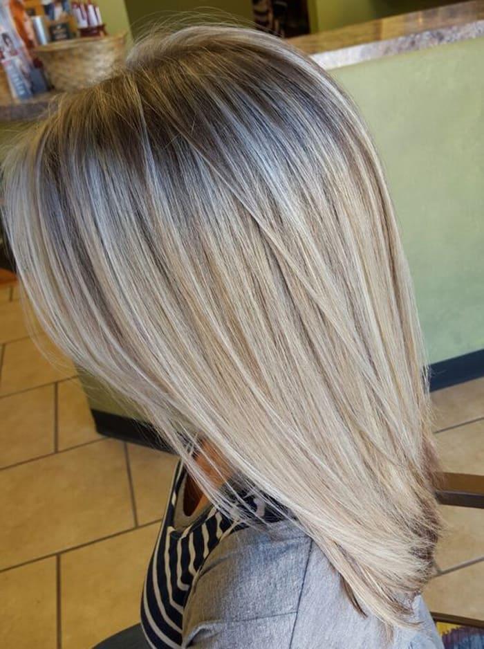 пепельный блондин фото