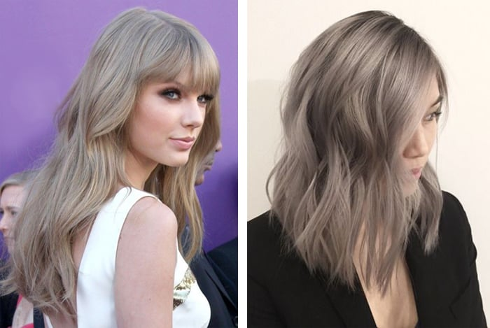 пепельный цвет для русых волос