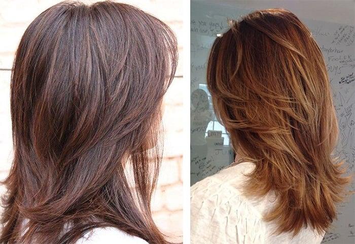 аврора на средние волосы