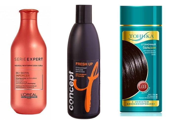 как поддерживать каштановый цвет волос