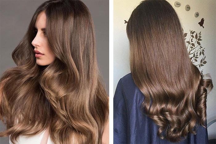светло каштановый цвет волос