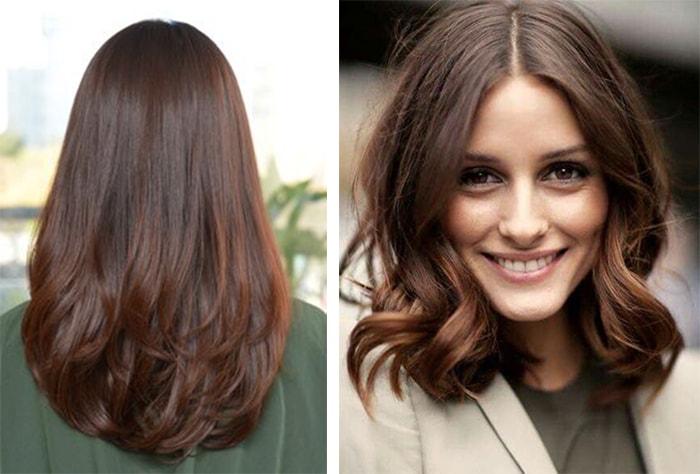 темно каштановый цвет волос