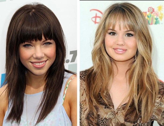 Причёски на круглое лицо без челки фото