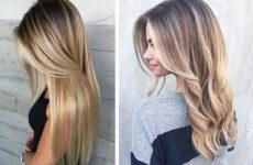 Брондирование волос на темные и русые волосы