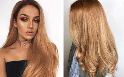 Карамельный цвет волос — кому идет, темные и светлые оттенки (фото)