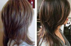 Стильная стрижка итальянка на средних, длинных и коротких волосах