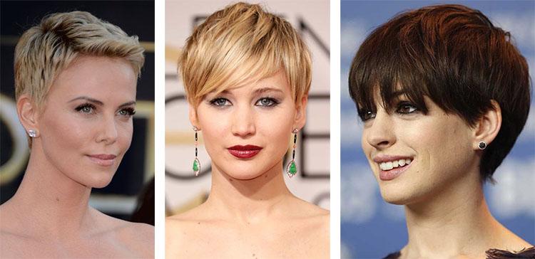 Сексуальные стрижка среднии волосы