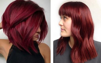 Цвет волос красное дерево — кому идет оттенок махагон