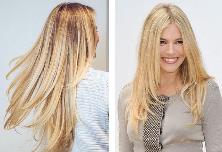 Волосы пшеничным цветам 8