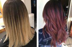 Окрашивание волос 2020 — сложное, Аиртач, Балаяж, Омбре, Шатуш
