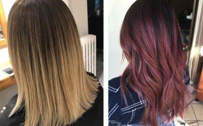 Окрашивание волос — Балаяж, Омбре, Шатуш и другие модные виды