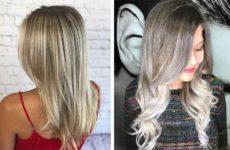 Мелирование на русые волосы: темные и светлые (фото)
